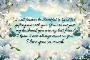 i will forever be thankful to love message for husband