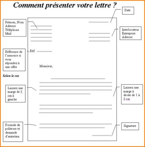 Présentation De La Lettre Commerciale 8 Mise En Page Lettre De Motivation Manuscrite Exemple Lettres