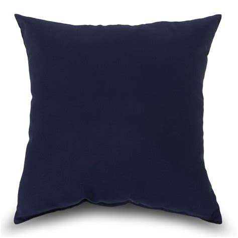 Navy Pillows by Navy Outdoor Throw Pillow Bsqinv K Dfohome