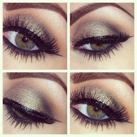 bronze smokey eye makeup  hazel eyes makeup beauty