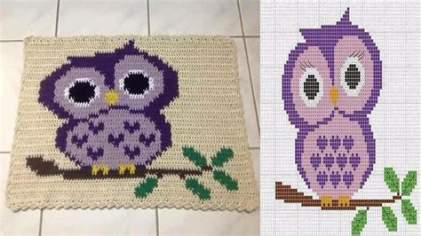 tapetes en croche con figuras patrones alfombras tejidas en crochet youtube