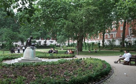 Square Gardens by The City Of Around Euston Station And The