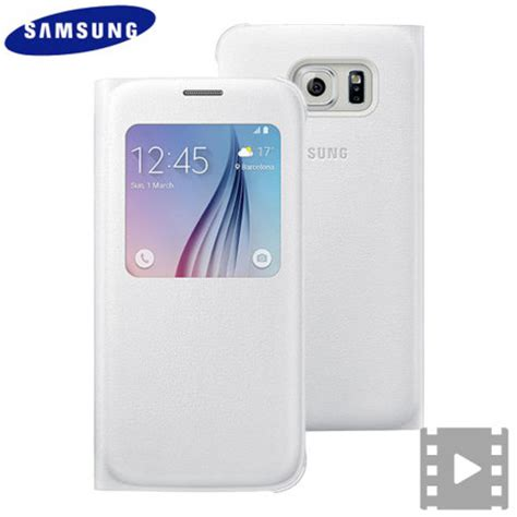 Samsung Official S View Cover Samsung Galaxy S6 G920 official samsung galaxy s6 s view premium cover