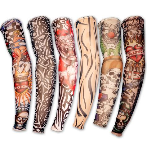 fake tattoo sleeves for men black sleeves www imgkid the image