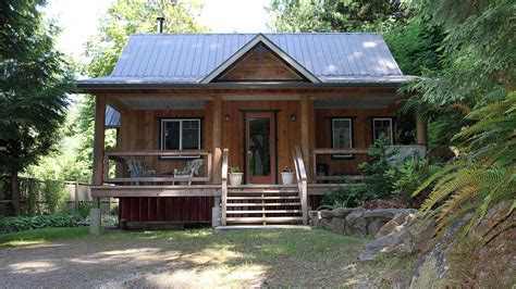 Log Cabin With Loft Floor Plans by Birds Hill Cottage Small House Bliss