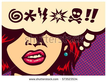 7 Letter Word For Upset Or Angry Pop Style Comics Panel Angry Stock Vector 573523534