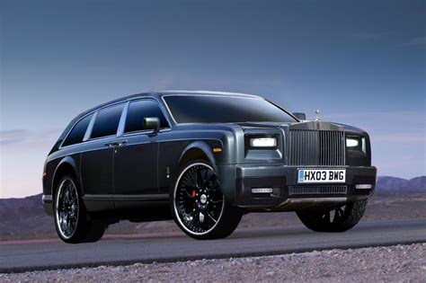 rolls royce to build a suv