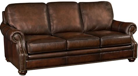 coleman leather sofa montgomery brown leather sofa from hooker coleman furniture