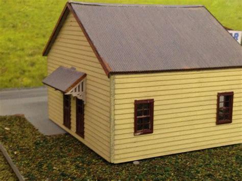 ho scale l posts ho 1 87 scale milk bar post office building kit model