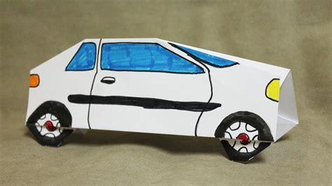How To Make A Car Using Paper - how to make a paper car