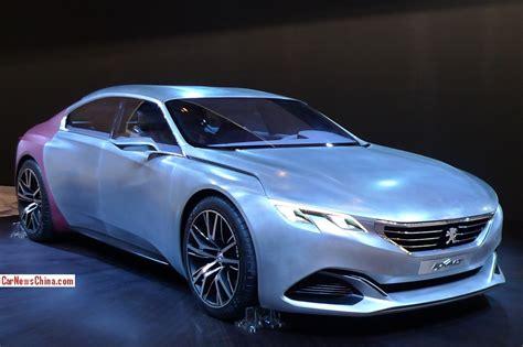 peugeot exalt concept peugeot exalt concept debuts on the beijing auto