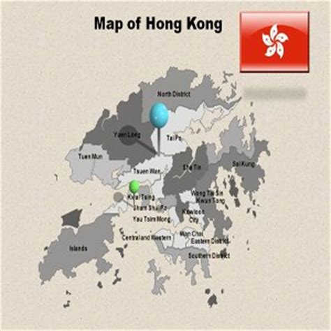 amazon com hong kong powerpoint map hong kong