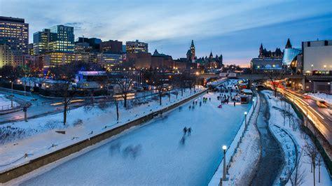 Canal Rideaux by Rideau Canal Skateway Ottawa Tourism