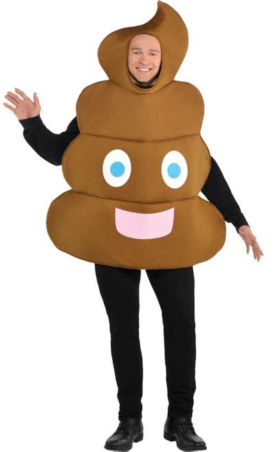 adult poop icon costume party city