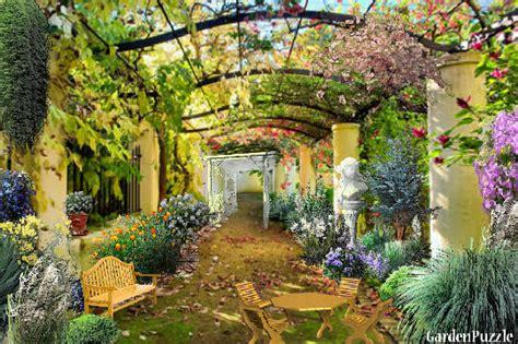 italian backyard design italian courtyard gardenpuzzle online garden planning tool