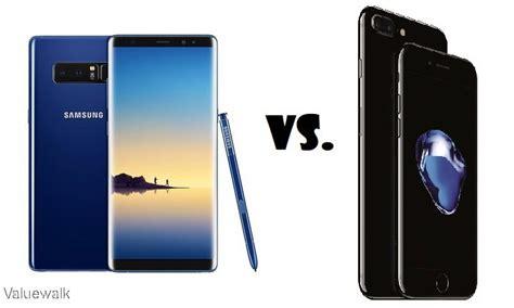 galaxy note   iphone   specs comparison
