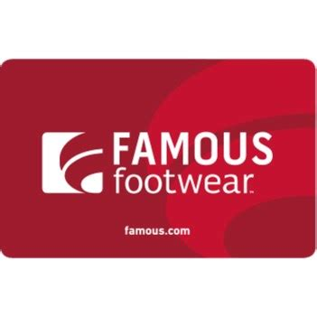 famous footwear gift card 50 other - Famous Footwear Gift Card Balance