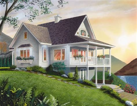 vacation cottage house plans lake house plans