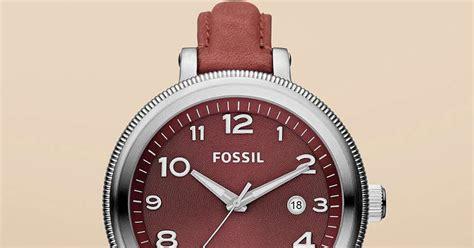 Jam Tangan Wanita Fossil Es4162 Gazer Sand Leather Original jam tangan wanita fossil type am4395