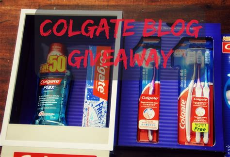 Food Blog Giveaway - blog giveaway colgate slimsoft dual action the food scout