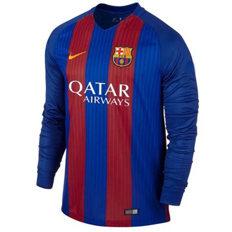 Jersey Barcelona Home 1617 Lengan Panjang jersey barcelona home lengan panjang 2017 nike jual jersey barcelona longsleeve home 2016 2017