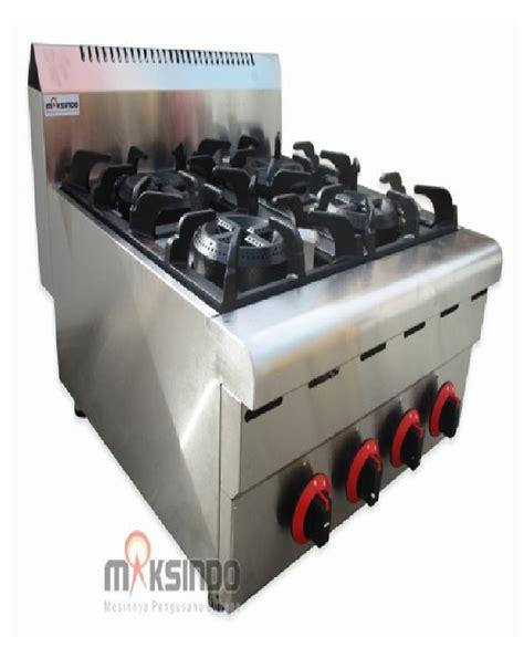 Oven Gas Di Bali jual counter top 4 burner gas range bali toko mesin