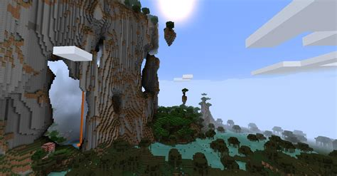 minecraft amplified worlds flat areas arqade