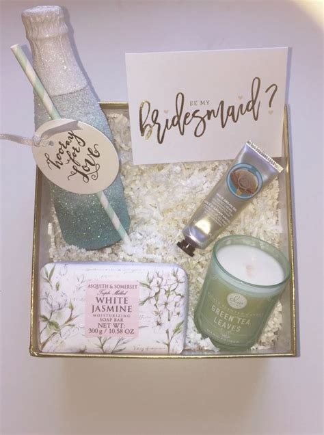 Wedding Gift Ideas From Bridesmaid by 15 Will You Be My Bridesmaid Ideas