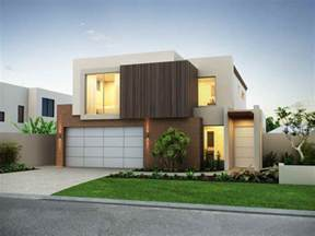 Modern House Garage by Architecture Modern House Facade With Nice Garage Modern