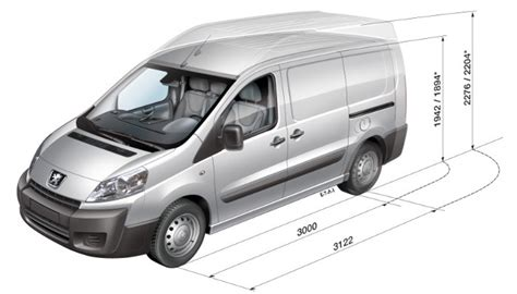 peugeot expert dimensions peugeot expert furgon technick 233 inform 225 cie