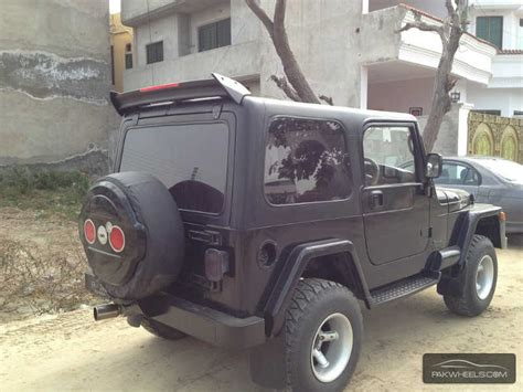 Wrangler Jeep Price In Pakistan Jeep Wrangler 1989 For Sale In Lahore Pakwheels