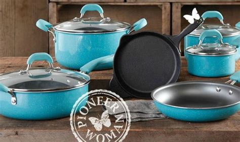 walmartpioneer ladys kitchenware check out the new pioneer woman collection fabulessly