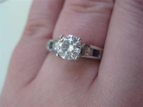 Moissanite Wedding Sets – Engagement Rings Not Diamonds Archives   The Moissanite