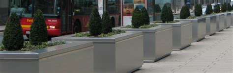 Concrete Security Planters by Security Planters Willerby Landscapes