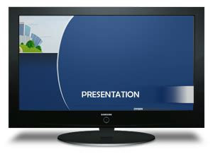 tv powerpoint template methods to play powerpoint on tv