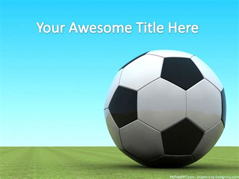 Free Soccer Powerpoint Template Download Free Powerpoint Ppt Free Soccer Powerpoint Template