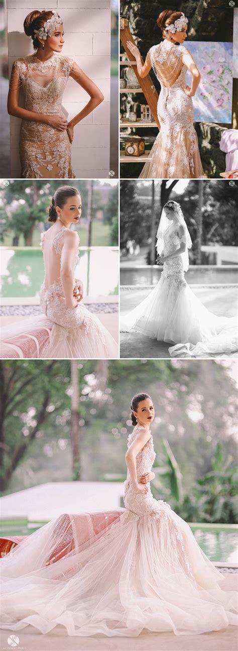 Top 10 Filipino Wedding Dress Designers We Love!   Praise