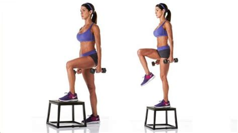 weighted step up on bench marta montenegro don t suffer from gluteal amnesia