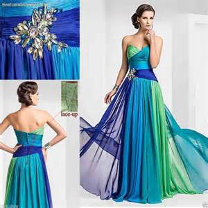 colorful dress colorful evening dresses 2015 best style