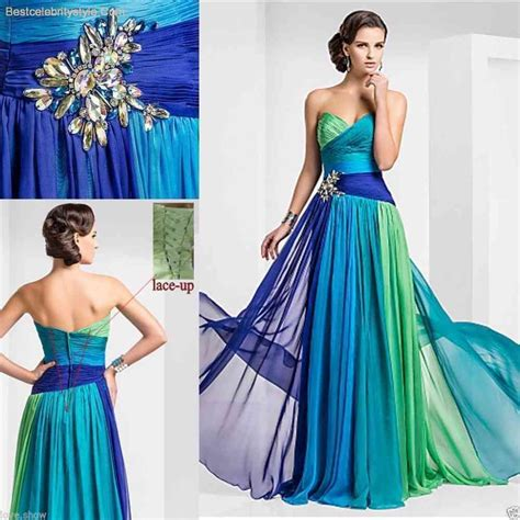 colorful prom dresses colorful evening dresses 2015 bestcelebritystyle