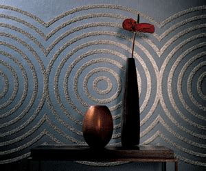 delightful Large Living Room Wall Decor #2: black-wallpaper-modern-wall-decorating-ideas-walls.gif