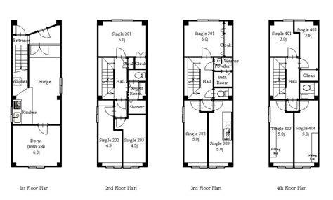 1 floor plan 사무라이하우스 히가시우에노 도쿄도 타이토구 쉐어하우스를 찾고 있다면 오크하우스