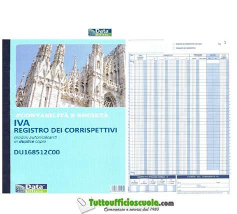 ufficio iva registro dei corrispettivi iva duplice copia