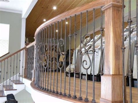 Decorative Banisters by Decorative Stair Railings With Is Decorative Wrought Iron