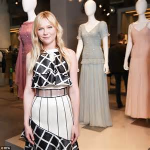 kirsten dunst proves why she is a fashion muse at the