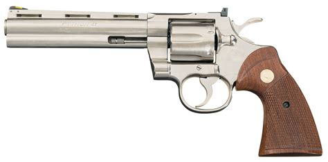 Revolfer Pyton colt python revolver in 41 magnum revolver firearms auction lot 1935