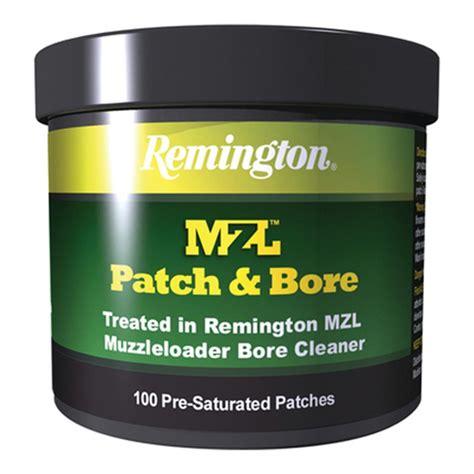 remington accessories mzl patch bore 100 count patches 16373