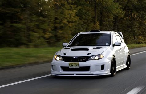 subaru wrx hatch white subaru hatchback sti