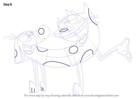 How To Draw Catdog Step By Step