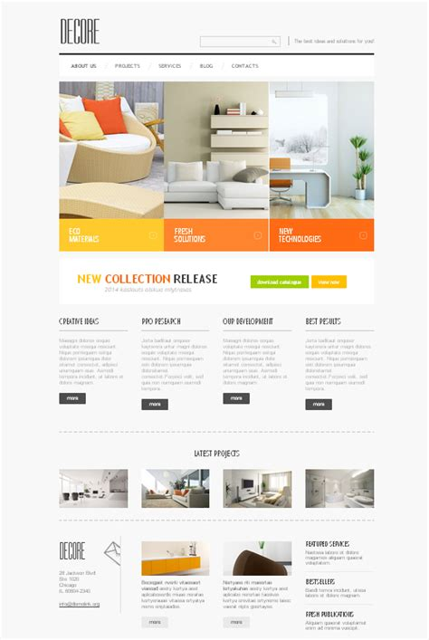 bootstrap templates the design work